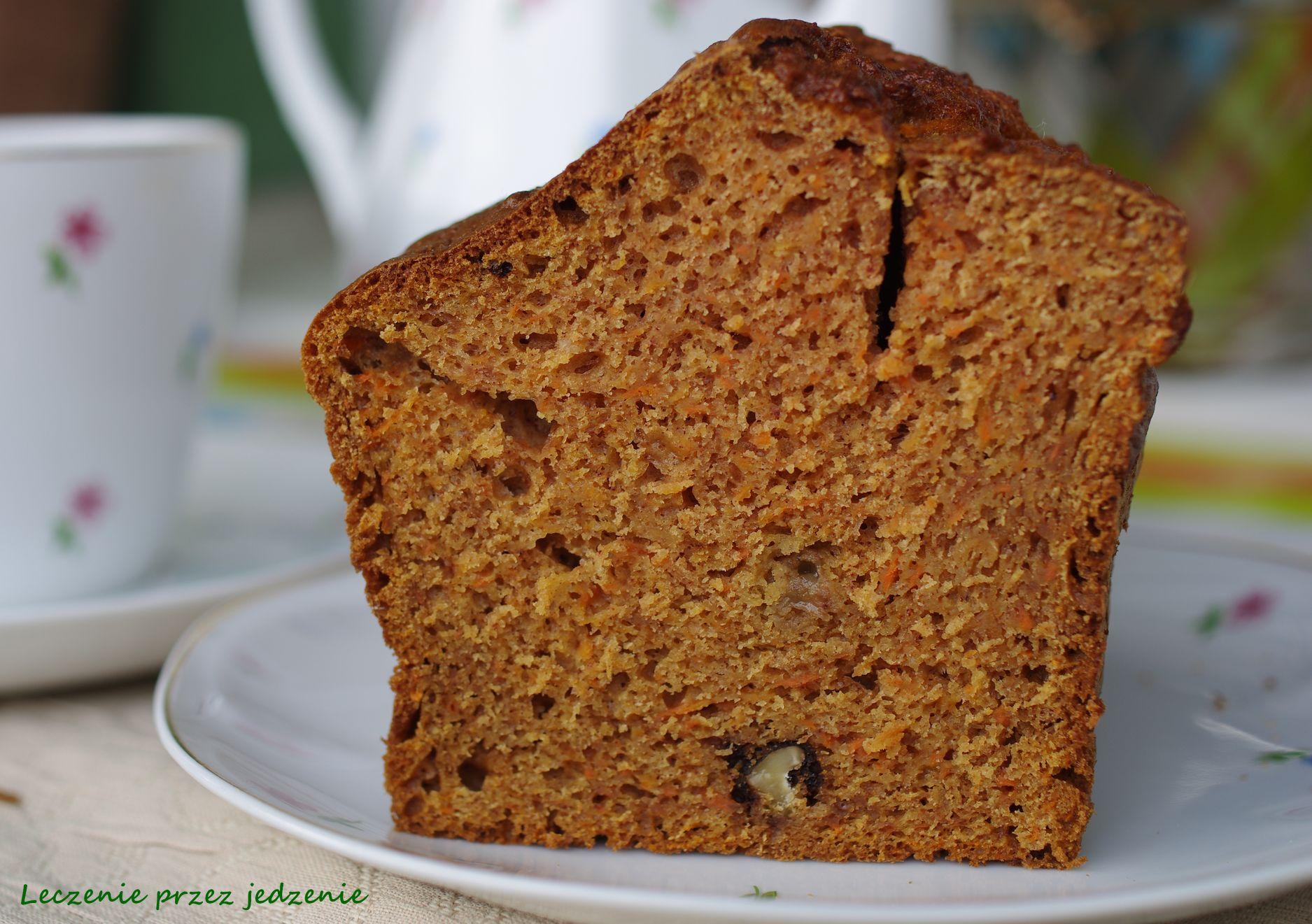 Marchewkowe ciasto bez oleju leczenieprzezjedzenie warszawadietetyk